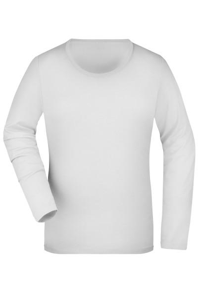 Damen Elastic Langarm Shirt