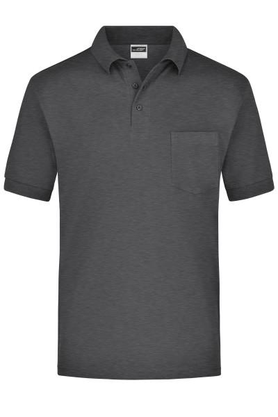 Kurzarm Poloshirt mit Brusttasche