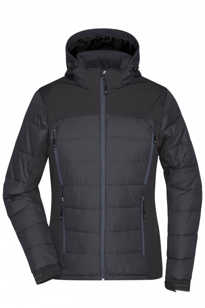 Damen Hybrid Thermojacke