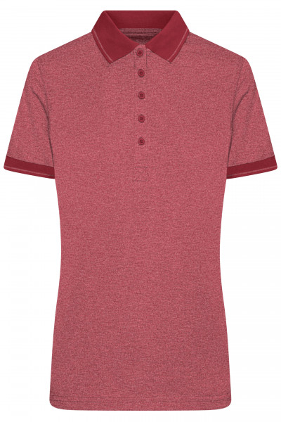 Damen Melange Polo