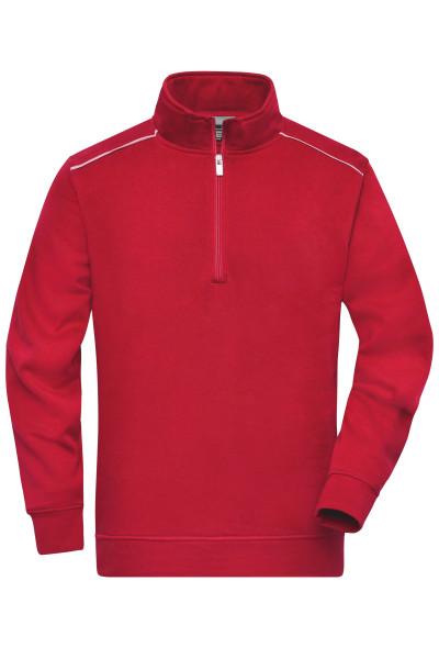 Workwear Sweatshirt Halfzip