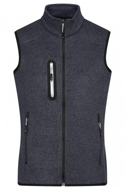 Damen Strickfleece Weste
