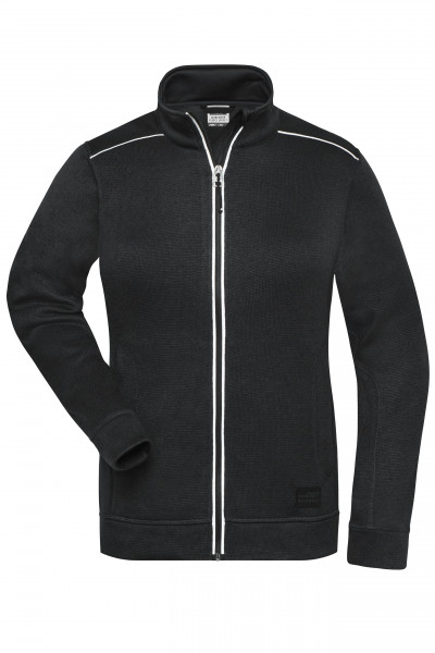 Damen Workwear Melange-Fleece