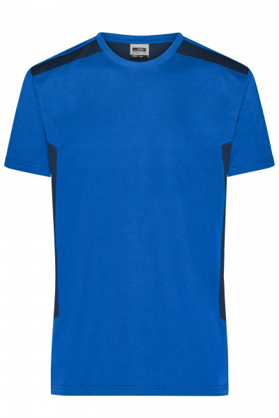 Herren BIO Workwear T-Shirt Kontrast