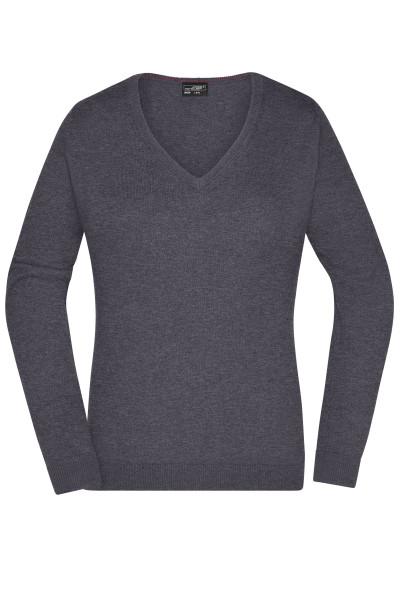 Damen V-Pullover