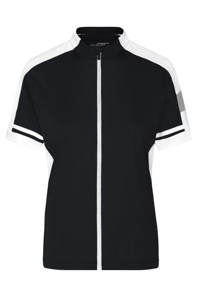 Damen Cooldry® Rad Shirt Longzip