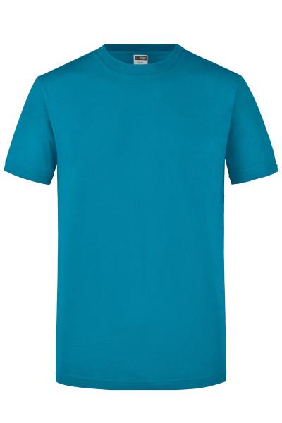 Herren Slimfit Rundhals Shirt
