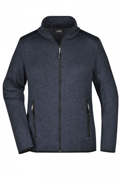 Damen Fleece Strickjacke