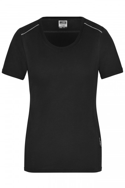 Damen Workwear T-Shirt Materialmix