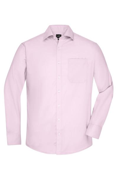 Langarm Herrenhemd Micro-Twill