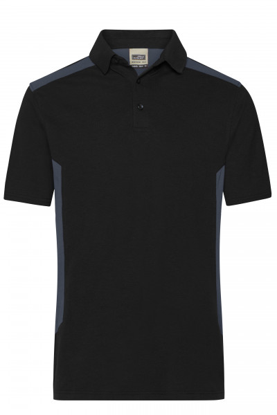 Herren BIO Workwear Polo Kontrast
