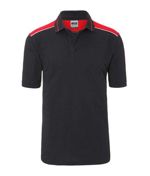 Herren Workwear Polo Kontrast