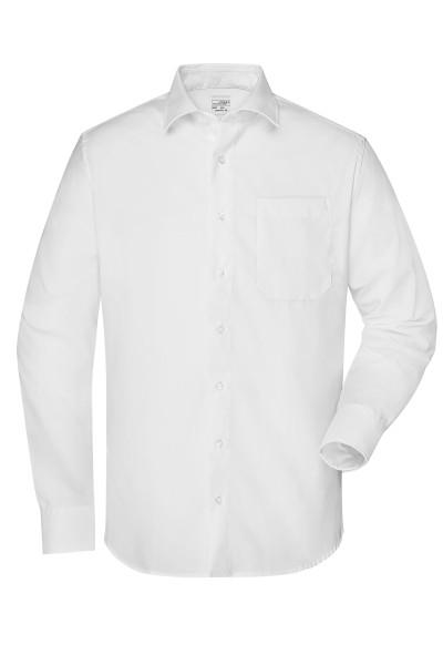 Non-iron Herrenhemd mit New-Kent-Kragen