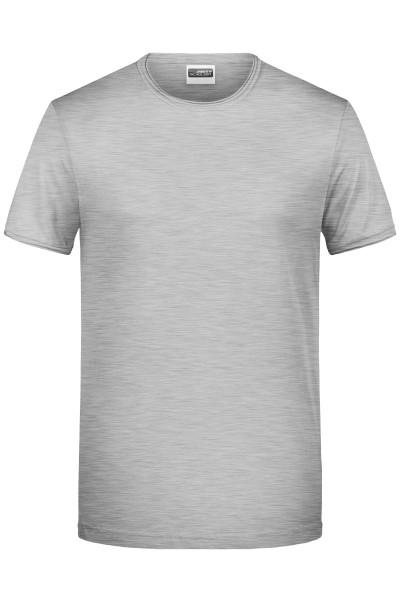 Herren T-Shirt Rollsaum