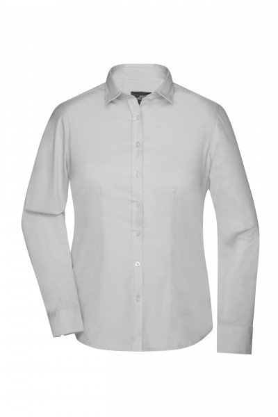 Langarm Damenbluse Oxford