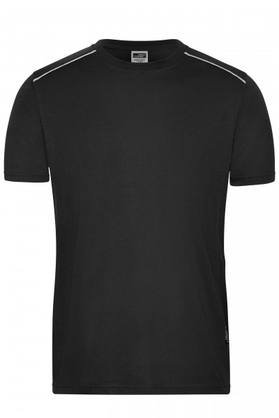 Herren Workwear T-Shirt Materialmix