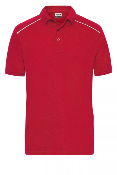 Herren Workwear Polo Materialmix