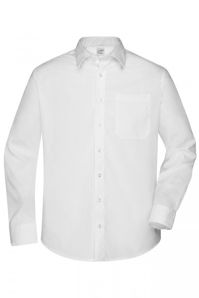 Non-iron Herrenhemd mit Kent-Kragen
