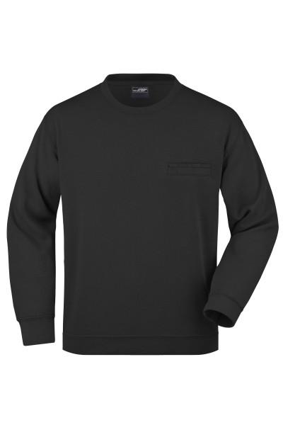 Herren Sweatshirt mit Brusttasche