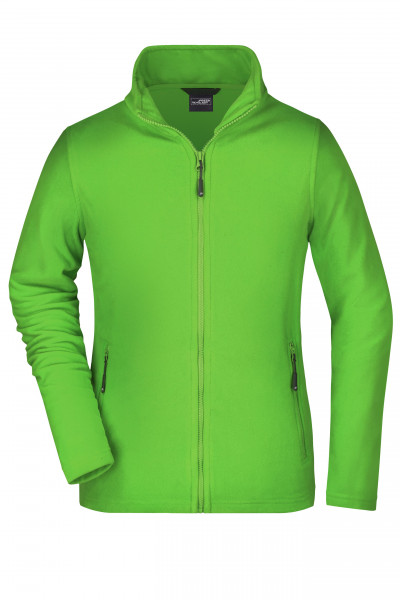 Damen Basic Fleecejacke