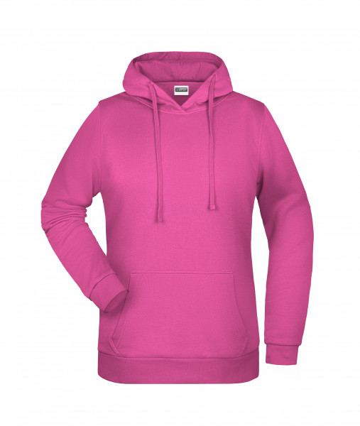 Damen Basic Kapuzensweat