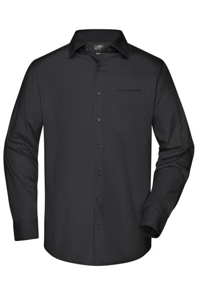 Herren Langarm Business Hemd