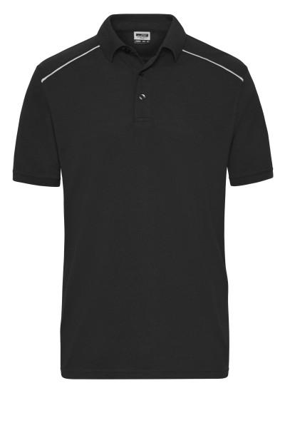 Herren Workwear Polo Materialmix