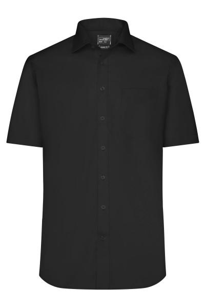 Kurzarm Herrenhemd Micro-Twill