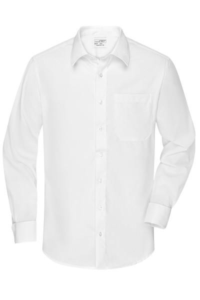 Non-iron Herrenhemd für Manschettenknöpfe