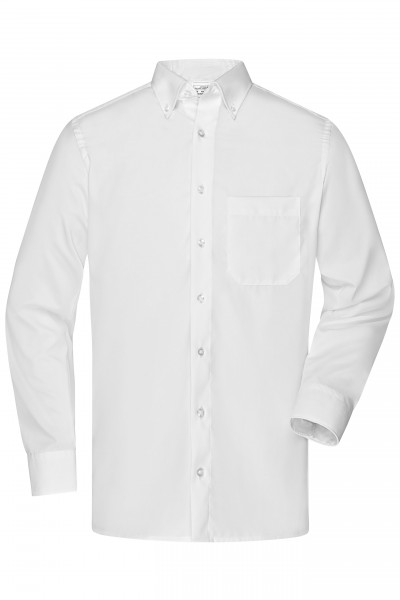 Non-iron Buttondown-Hemd Slim-Fit