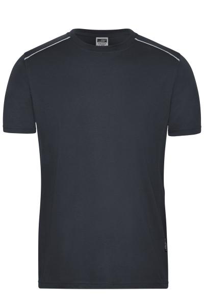 Herren Workwear T-Shirt Materialmix