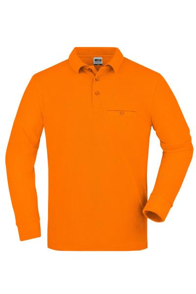 Herren Langarm Workwear Polo