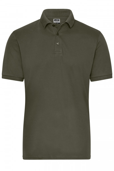 Herren Bio Workwear Polo Stretch