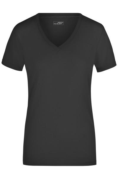 Damen Elastic V-Shirt