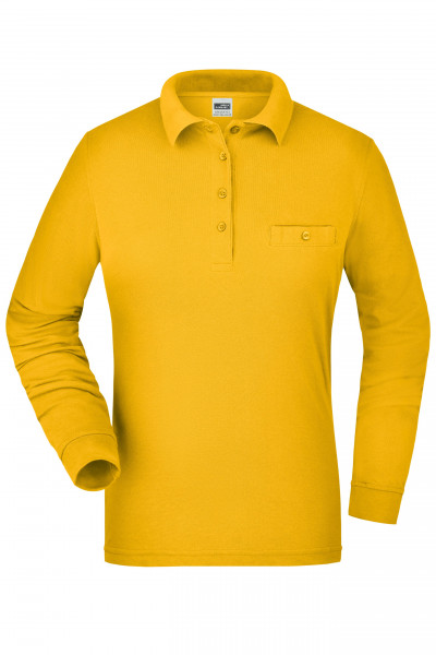 Damen Langarm Workwear Polo